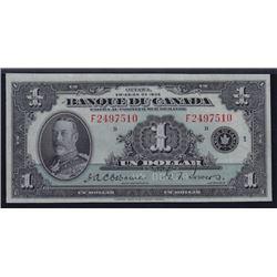 1935 Banque du Canada $1