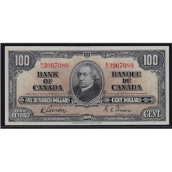 1937 Bank of Canada $100