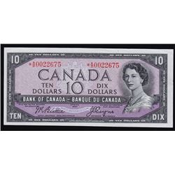 1954 Bank of Canada $10 Replacement