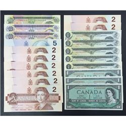 Bank of Canada Replacement Notes - Lot of 20