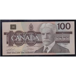 1988 Bank of Canada $100 Replacement