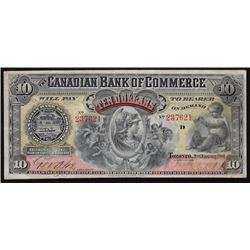 1901 Canadian Bank of Commerce $10