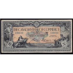 1917 Canadian Bank of Commerce $10