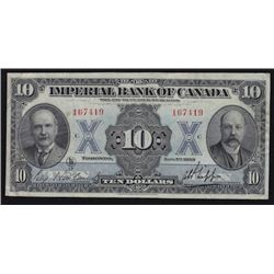 1923 Imperial Bank of Canada $10