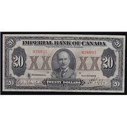 1923 Imperial Bank of Canada $20