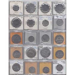 Lot of 60 Ontario Trade Tokens