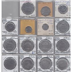 Lot of 52 Ontario Trade Tokens