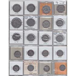 Lot of 35 Ontario Trade Tokens