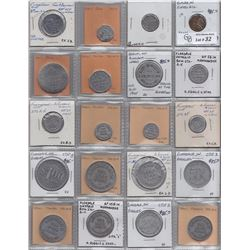 Lot of 40 Ontario Trade Tokens