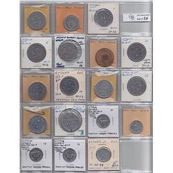 Lot of 57 Ontario Trade Tokens