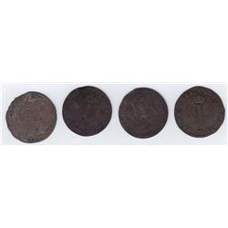 Br 508. Billon Double Sol of 24 Deniers. 1739 A. (Paris).