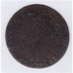 Br 508. Billon Double Sol of 24 Deniers. 1740 A. (Paris).