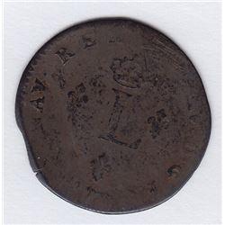 Br 508. Billon Double Sol of 24 Deniers. 1746 A. (Paris).