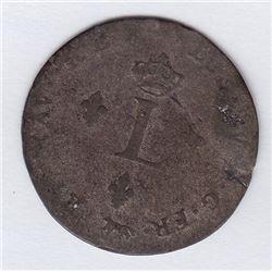 Br 508. Billon Double Sol of 24 Deniers. 1751 A. (Paris).