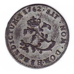 Br 508. Billon Double Sol of 24 Deniers. 1752 H. (La Rochelle).