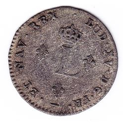 Br 508. Billon Double Sol of 24 Deniers. 1739/8 W. (Lille)
