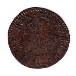 Br 509. Billon Sol of 12 Deniers. 1739 A. (Paris).