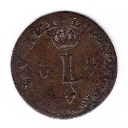 Br 509. Billon Sol of 12 Deniers. 1746? A. (Paris).