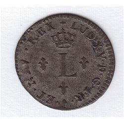 Br 509. Billon Sol of 12 Deniers. 1740 B. (Rouen).