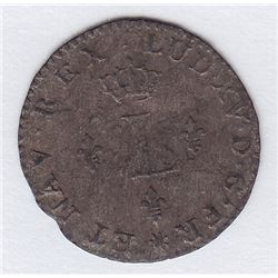 Br 509. Billon Sol of 12 Deniers. 1740 D. (Lyon).