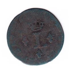Br 509. Billon Sol of 12 Deniers. 1740 O. (Riom).