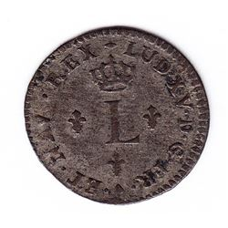 Br 509. Billon Sol of 12 Deniers. 1739 P. (Dijon).