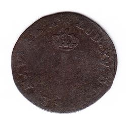 Br 509. Billon Sol of 12 Deniers. 1739 Adorsed Cs. (Besançon).