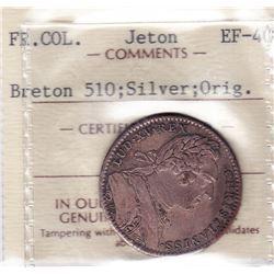 Original Franco-American Jeton. Br 510.
