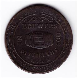 Br 562. Molson's Sou, 1837.