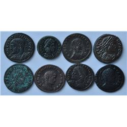 Roman Coins - Lot of 8.