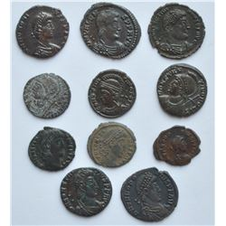 Roman Coins - Lot of 11.