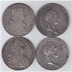 Austria - Lot of 4 Thalers