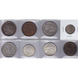 Belgium - Lot of 8