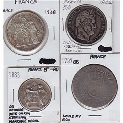 France - Lot of 4