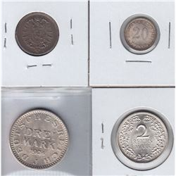 Germany - Lot of 4