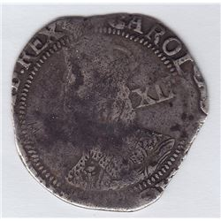 Great Britain Shilling, 1638-39