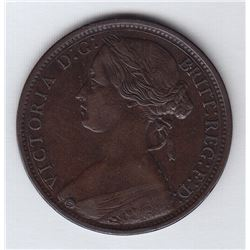 Great Britain One Penny, 1869
