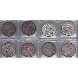 Great Britain Crowns - Lot of 8