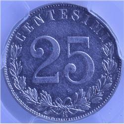 Italy - 25 Centesimi, 1903