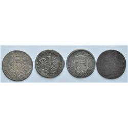 Italy - Lot of 4 Crowns