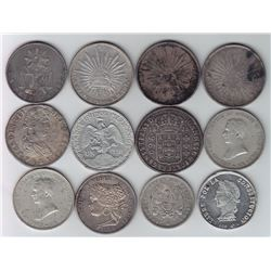 Mexico & South America - Lot of 12