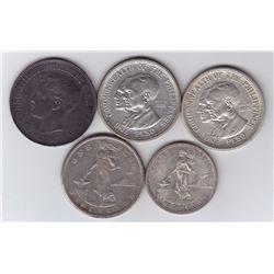 Philippines - Lot of 5