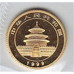 World Gold - China 5 Yuan