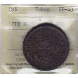 Nova Scotia Penny Token, 1832