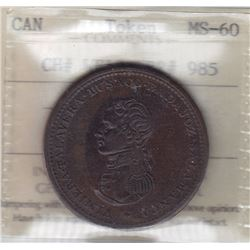 Cossack Penny Token