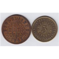 Post Confederation Tokens.