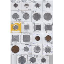 Ontario Merchant Tokens - Lot of 23