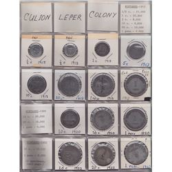 Philippines Culion Leper Colony WW2 Emergency Currency Notes and Tokens