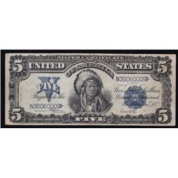 1899 United States of America $5 Silver Certificate