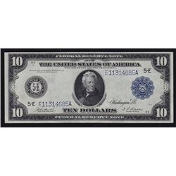 1914 United States of Amercia $10 Federal Reserve Note